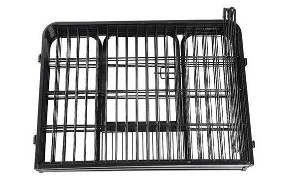 DIY Exercise Metal playpen 16 pcs Pet Dog Cat Barrier Fence07