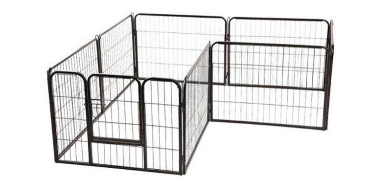 Temporary Large Outdoor Dog Fence Panel Folding Breeding Pet Pen05